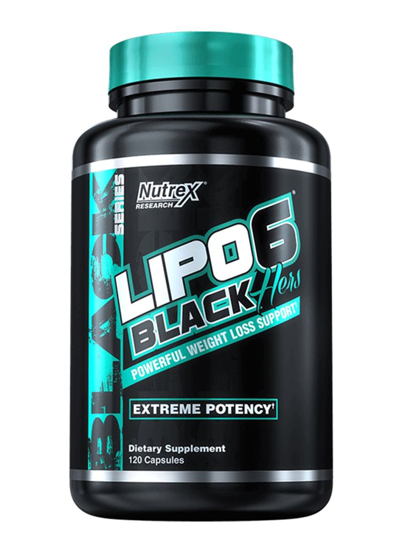 Lipo 6 Black Hers Weight Loss support 120 caps