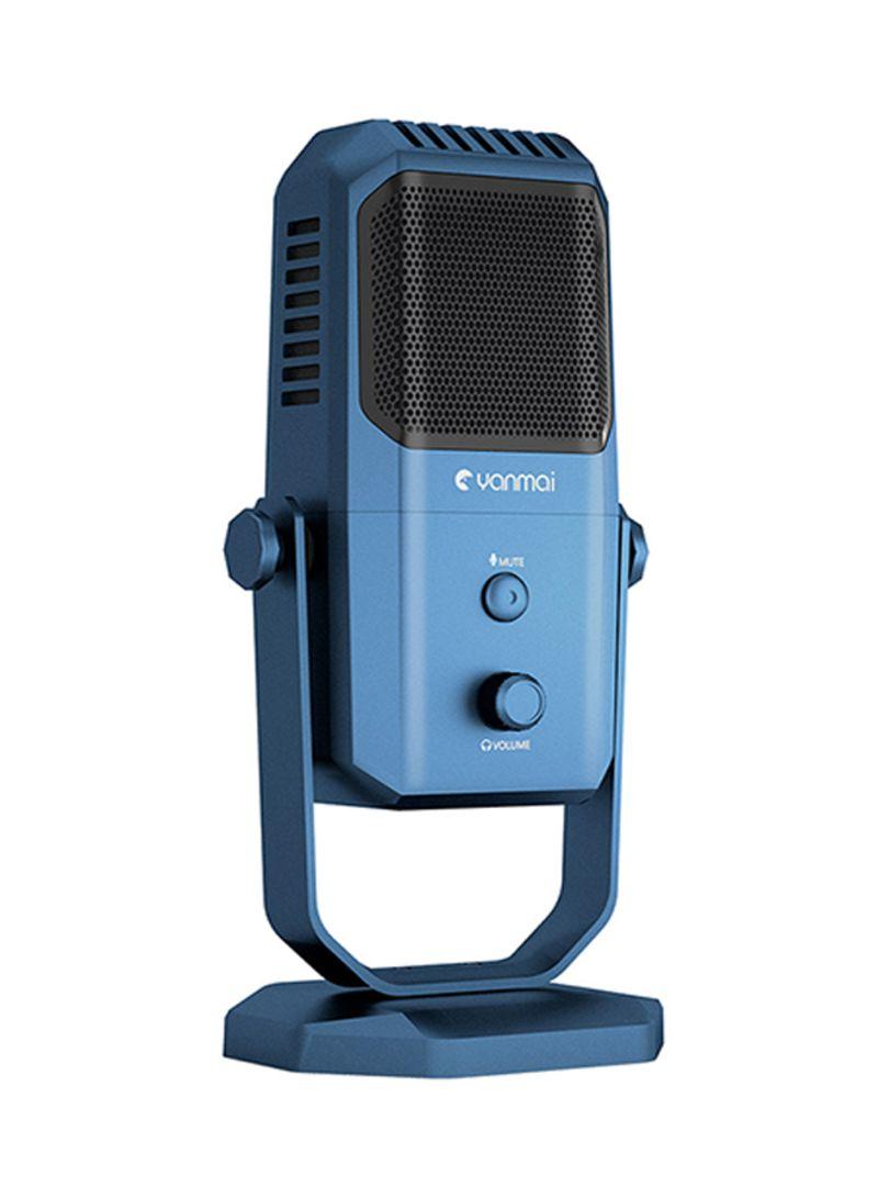 USB Studio Recording Condenser Microphone SF-900 V6462 Blue