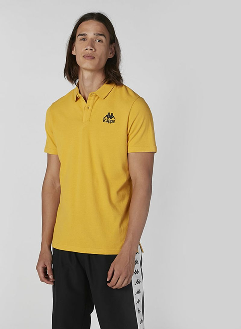 Essential Solid Design Polo Yellow