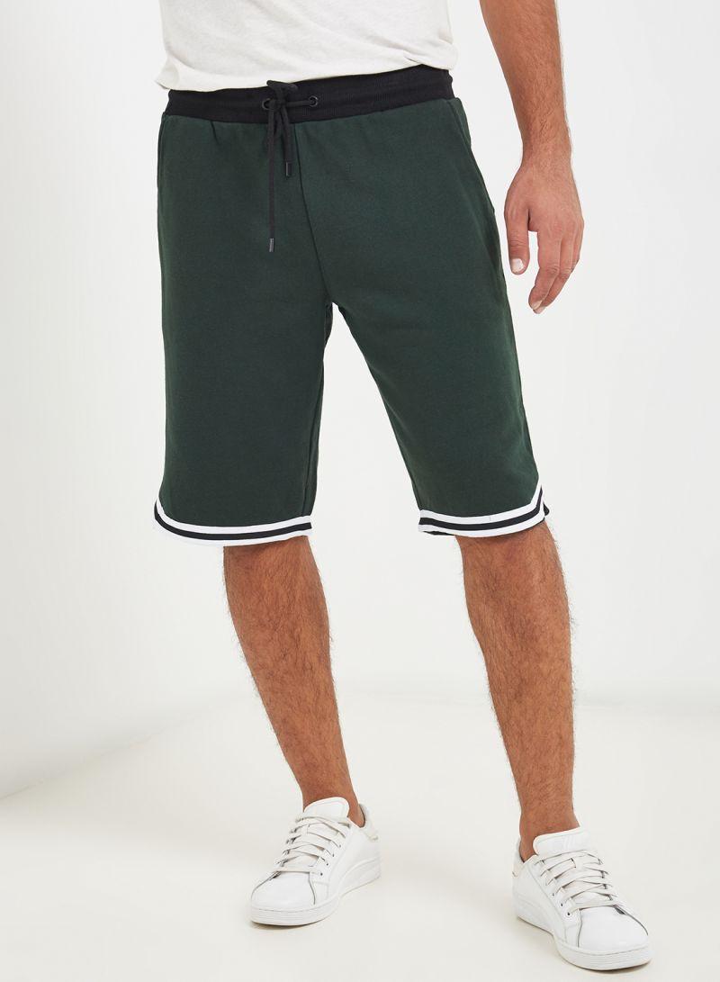 Men Bottoms Shorts Green