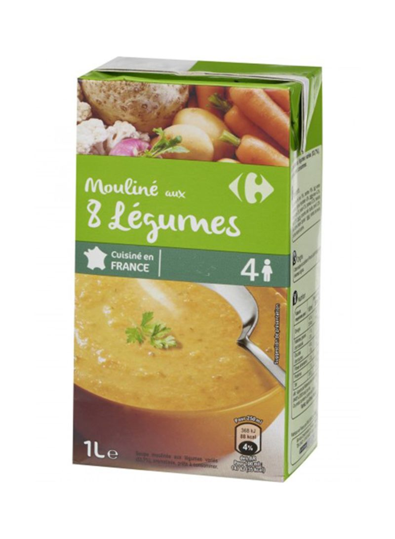 Eight Vegetables Soup 1 liter