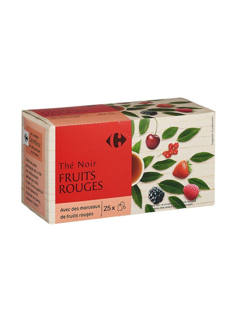 25-Piece Fruits Tea Bag Set