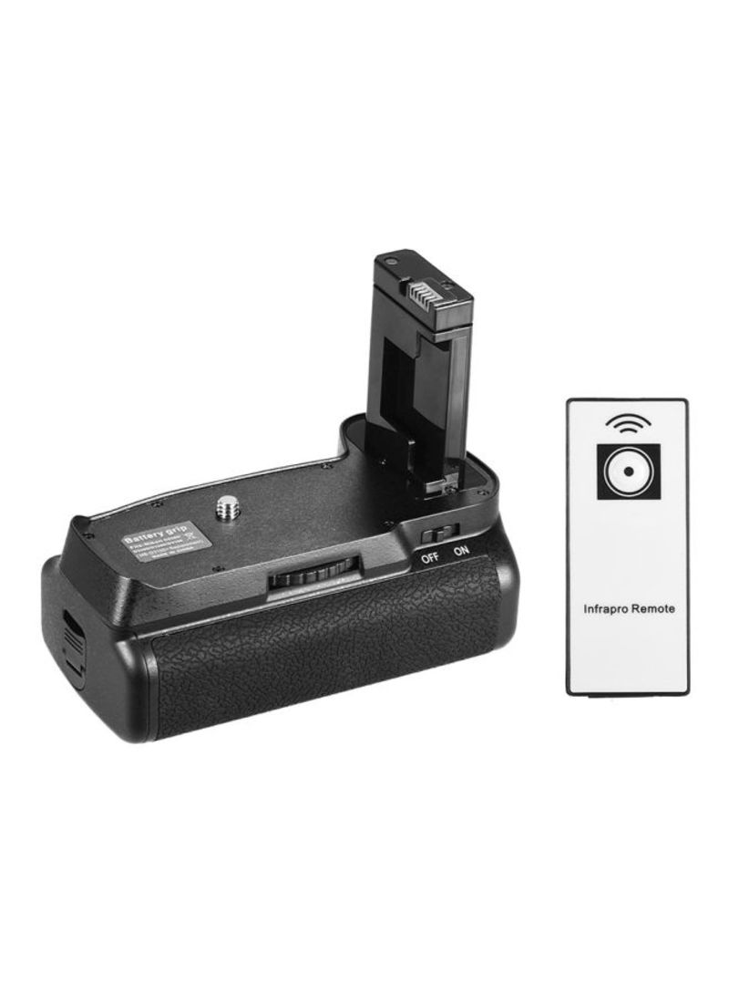 Replacement Vertical Battery Grip With Remote Control For Nikon D5300/D3300/D3200/D3100/DSLR Camera Black/Silver