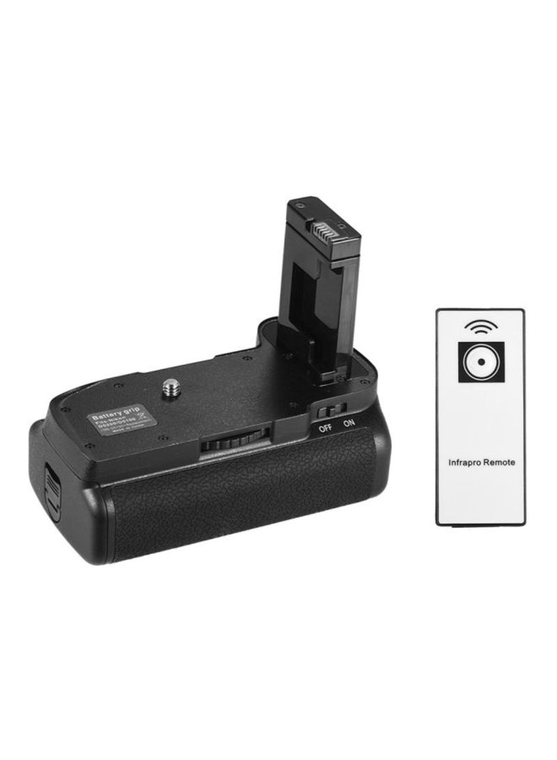 Vertical Battery Grip Holder For Nikon D5100/D5200 DSLR Camera With IR Remote Control Black/Silver
