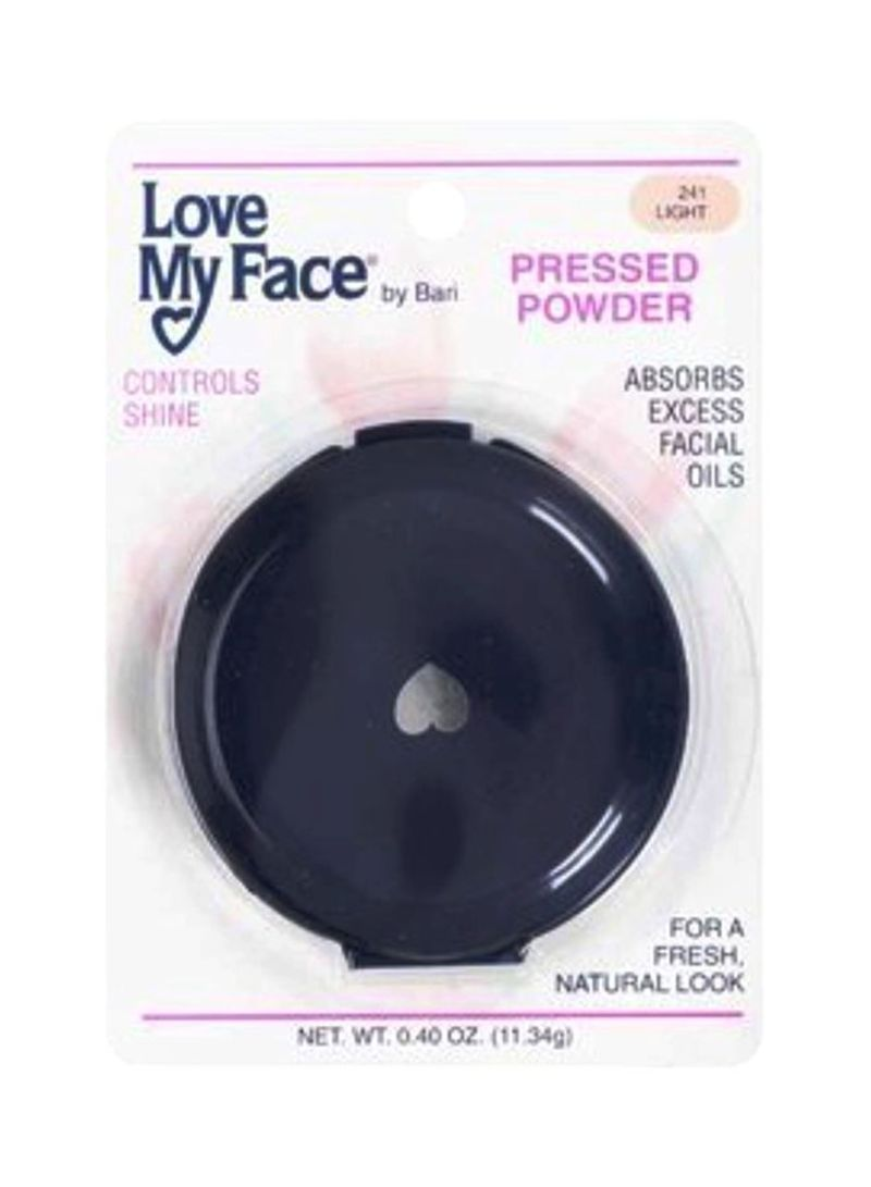 Love My Face Pressed Face Powder 241 Light