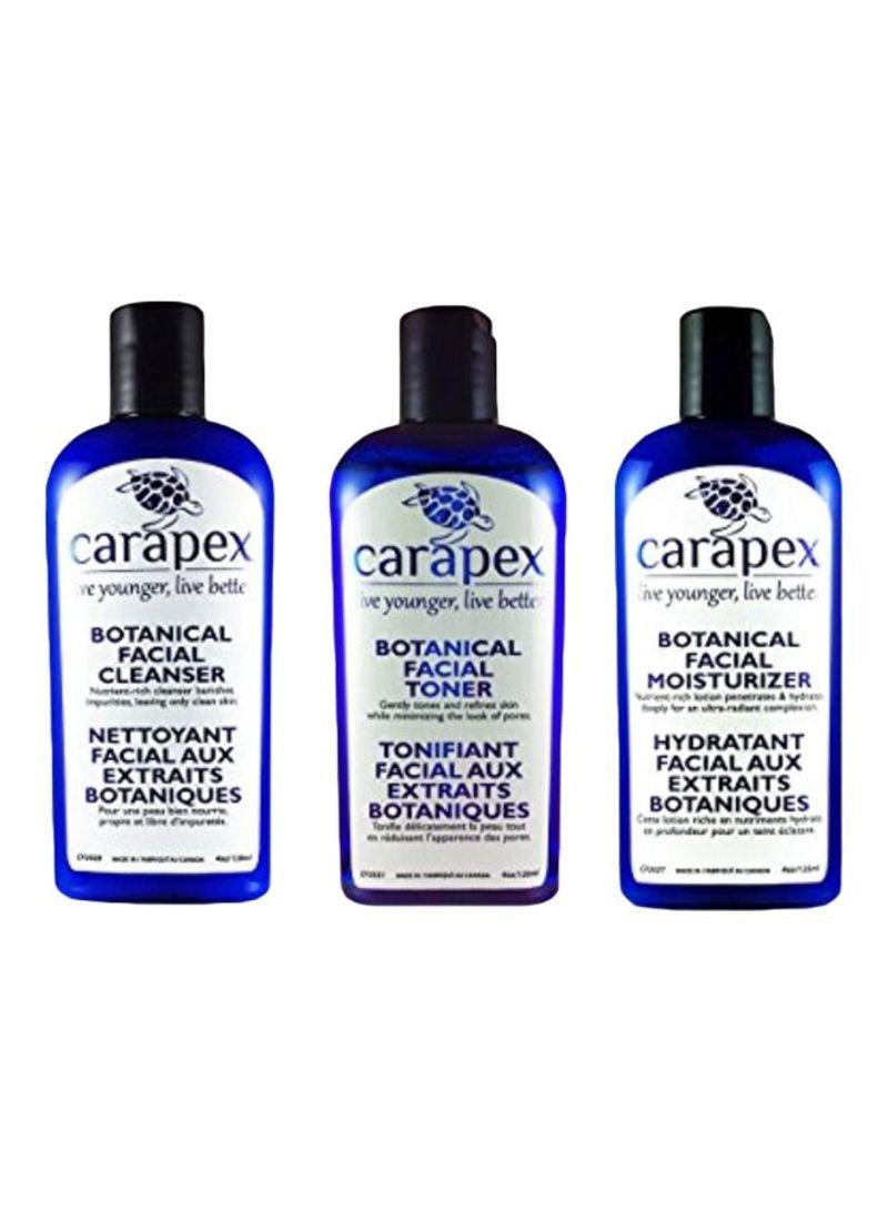 3-Piece Botanical Anti Aging Skincare Care Set 4 ounce