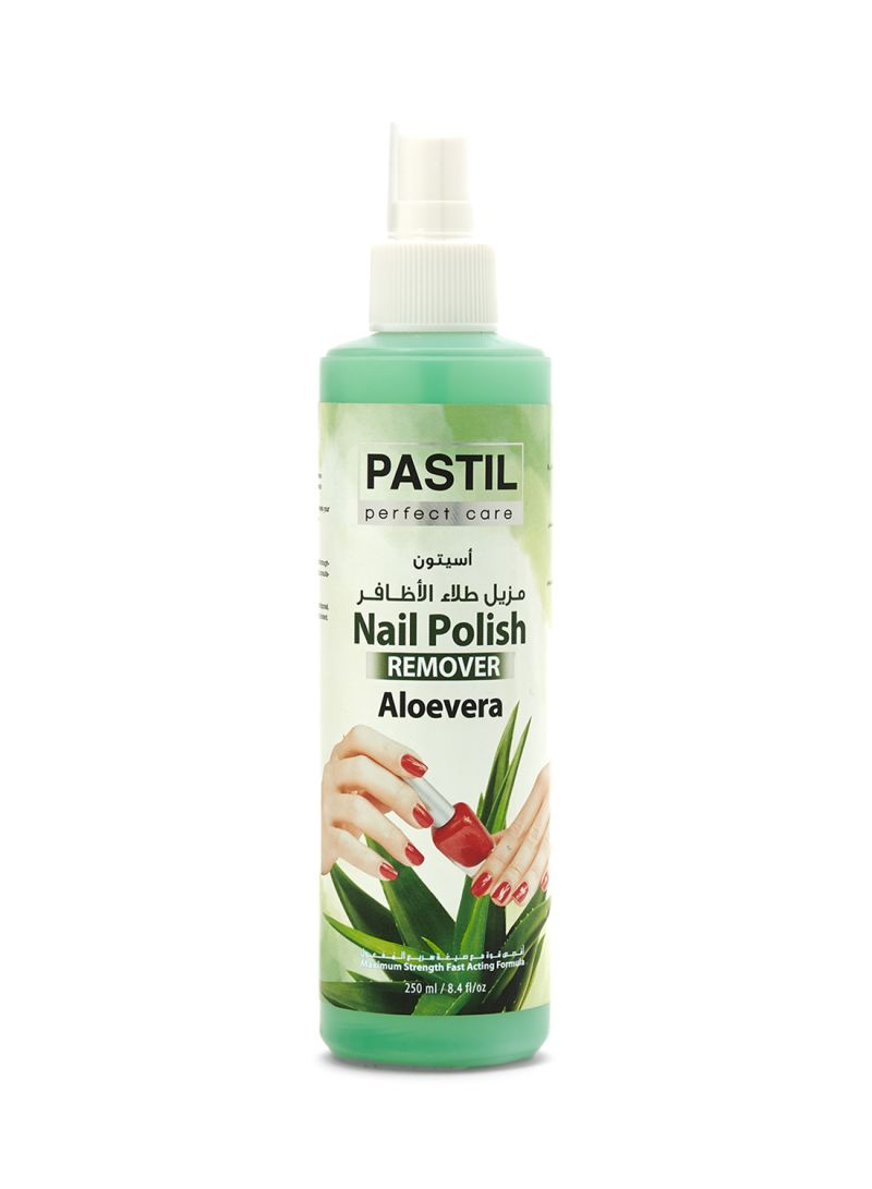 Nail Polish Remover Blue
