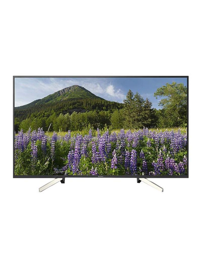 49-Inch 4K HDR Smart TV KD-49X7077F Black