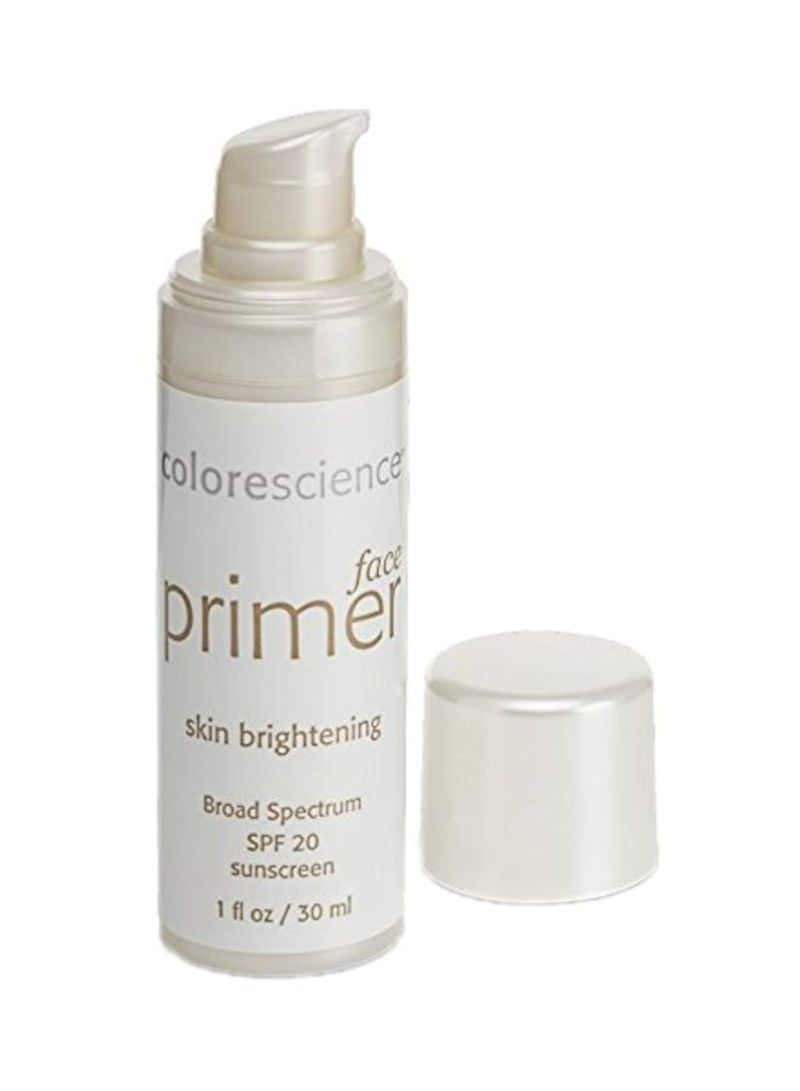 Face Primer Skin Brightening SPF 20 Clear