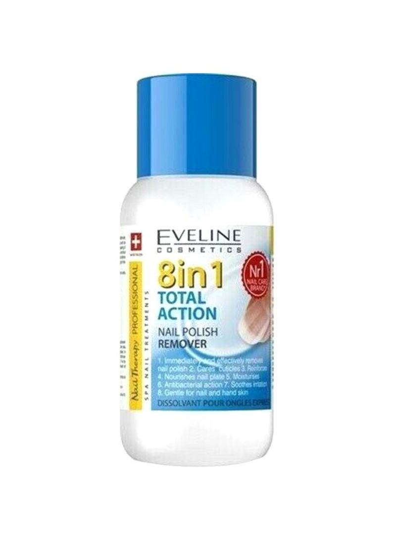 8 In 1 Total Action Nail Polish Remover Clear