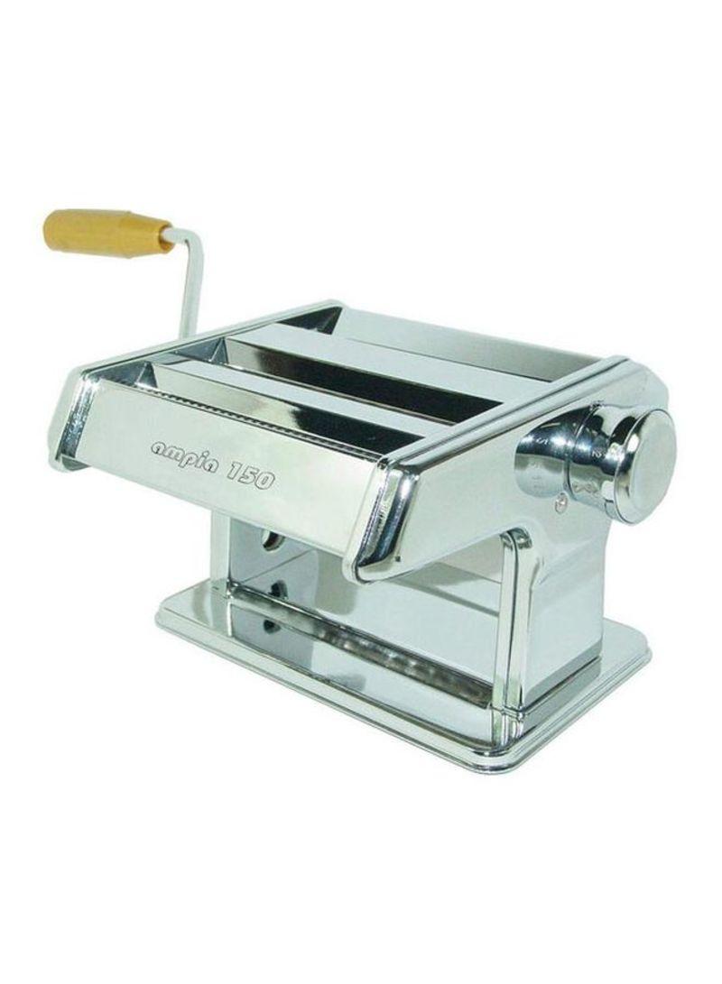 Stainless Steel Pasta Maker Silver 150 millimeter