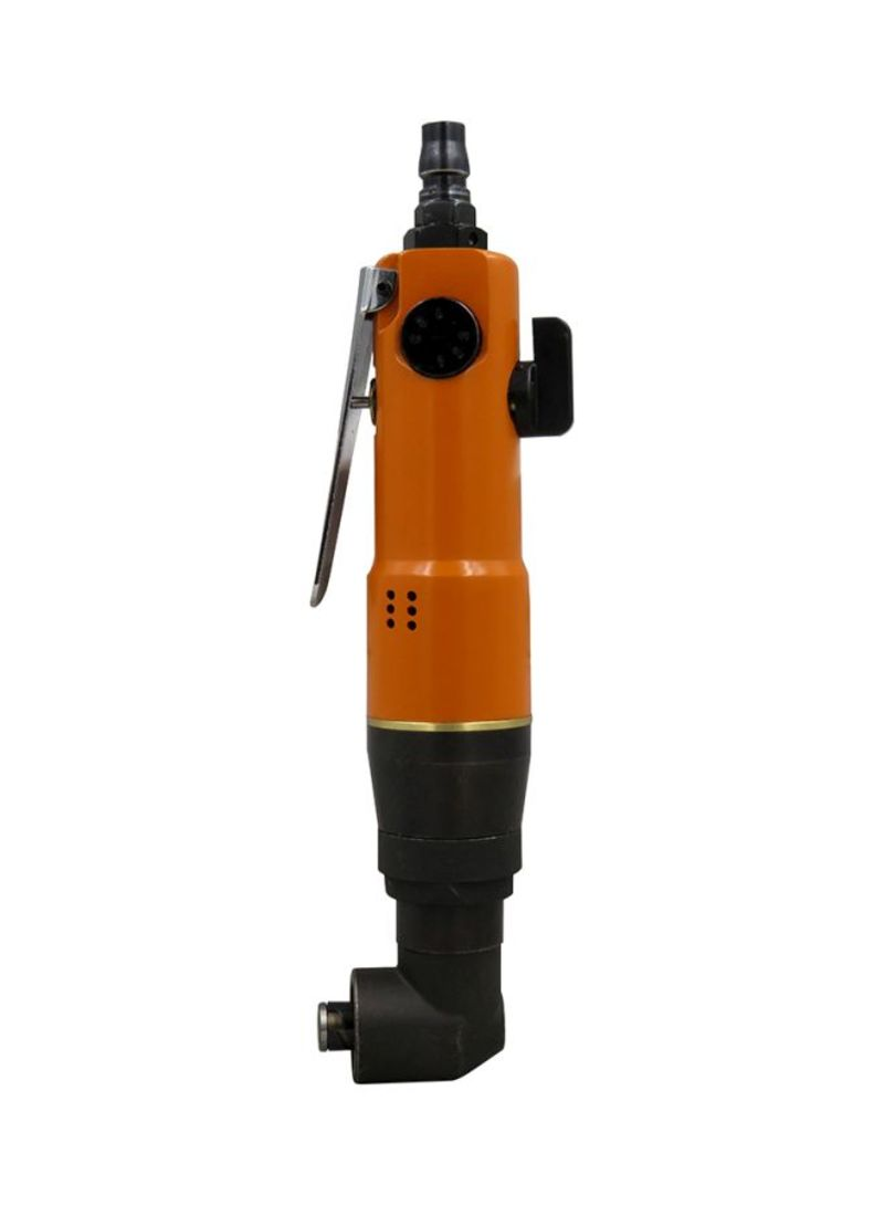 Air Angle Grinder Polishing Machine Orange/Black 25x7.5x7.5 centimeter