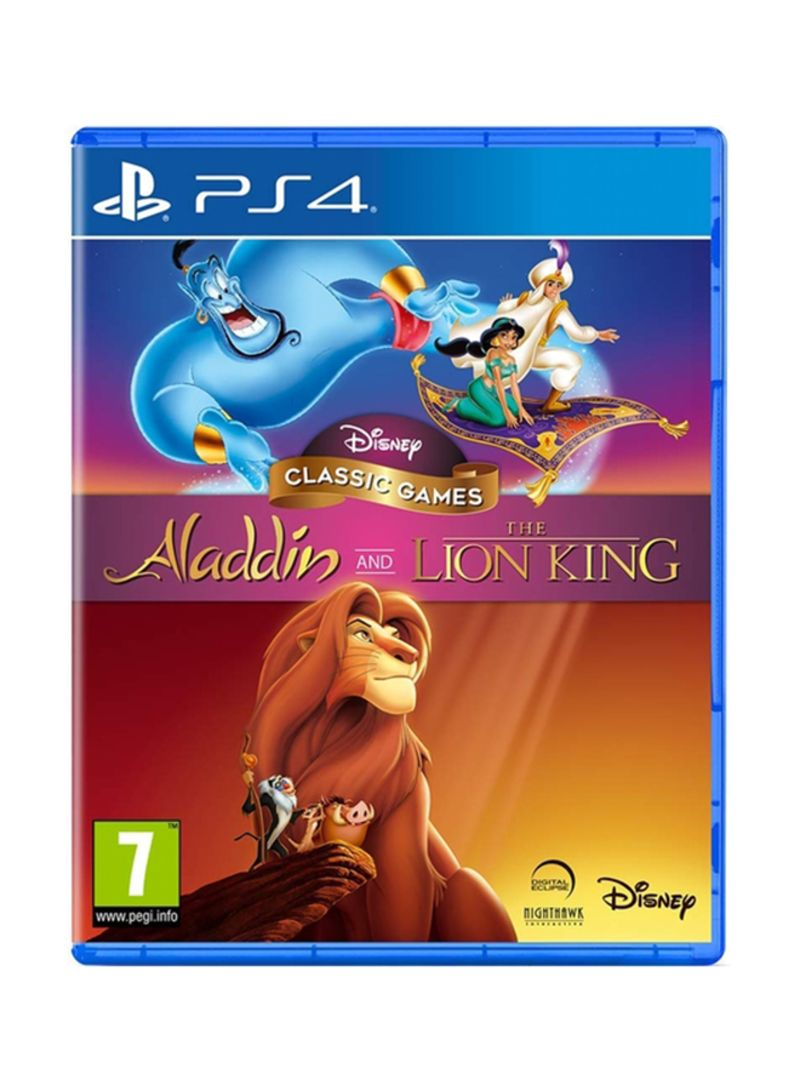 Disney Classic Games Aladdin And The Lion King Game - Playstation 4