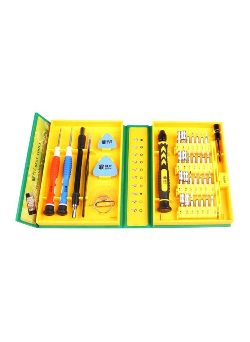 38-In-1 Professional Hardware Repair Tools Kit Multicolour