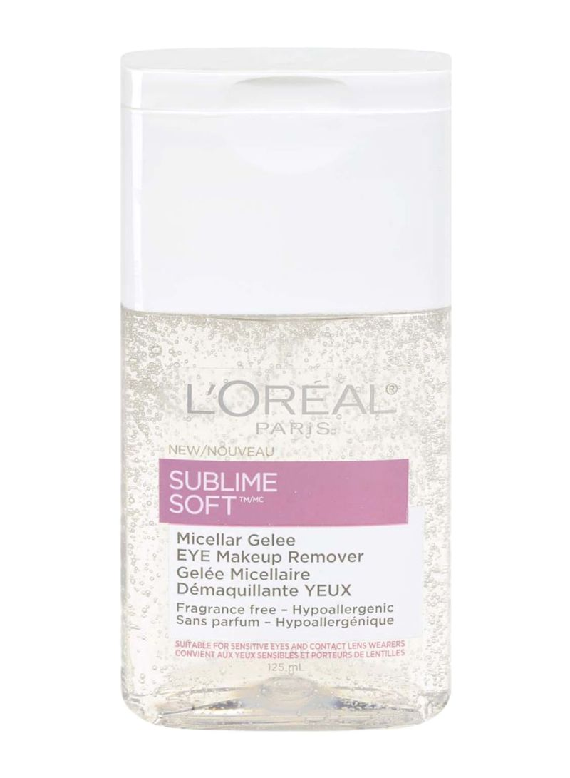 Sublime Soft Micellar Gelee Eye Makeup Remover Clear