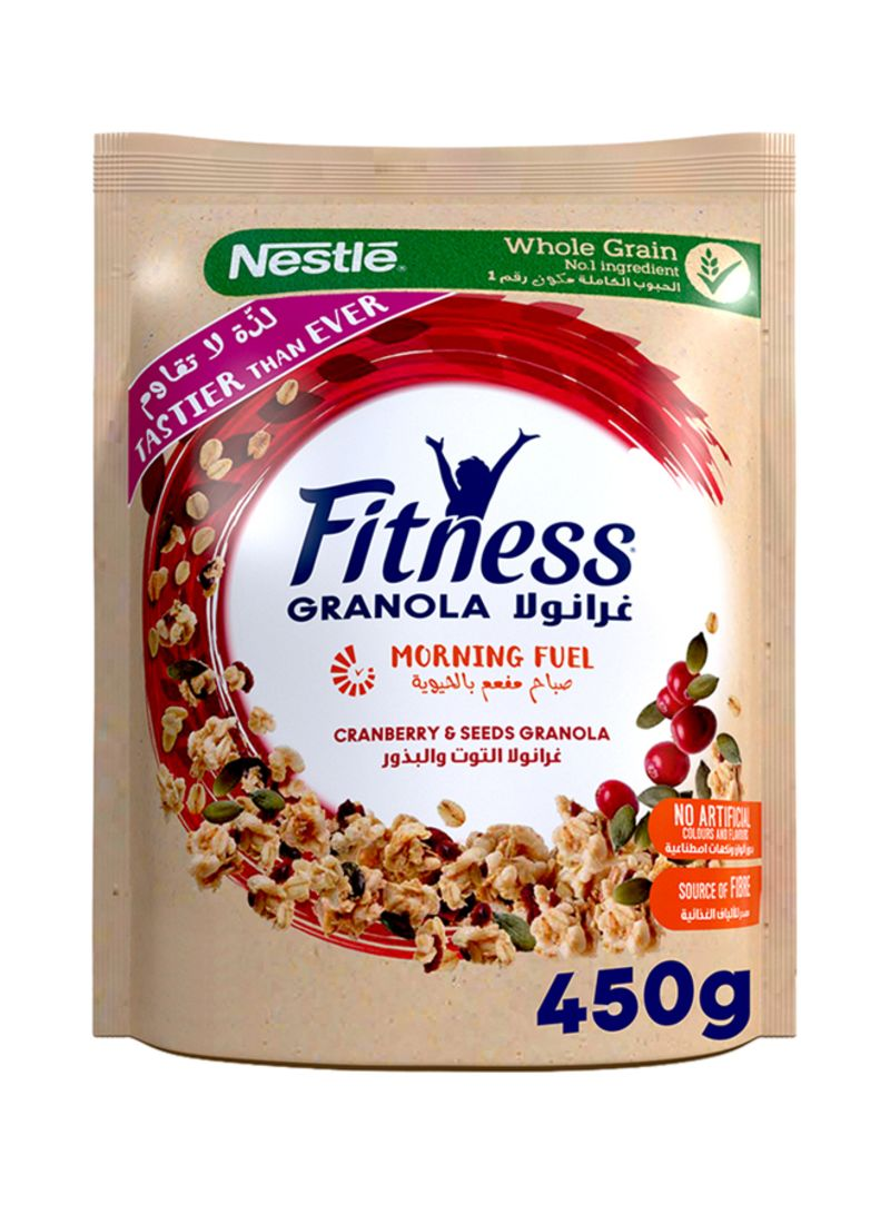 Granola Pumpkin Seeds & Cranberry Oat Cereal 450 g