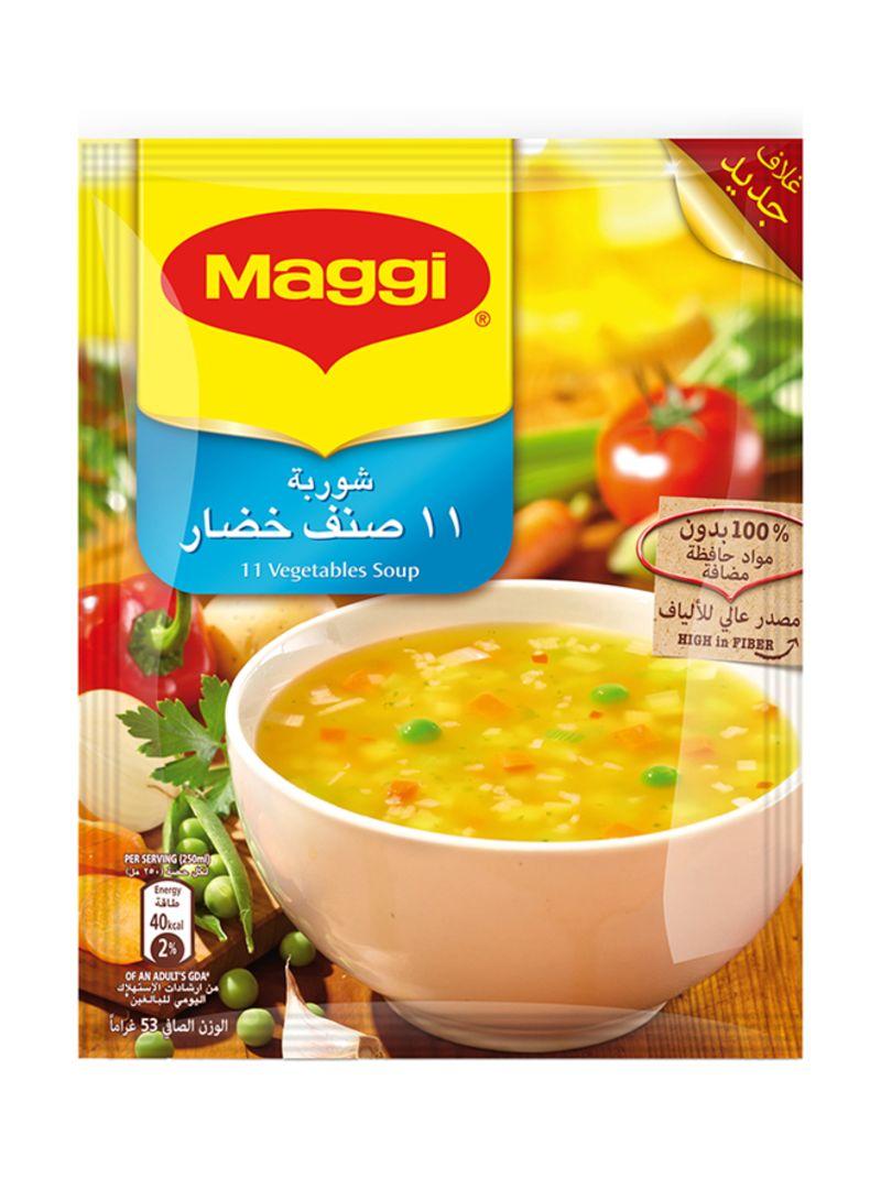 11 Vegetables Soup 53 g